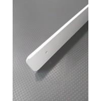 Торцова планка для стільниці LUXEFORM ліва колір RAL9003